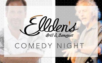 Ellden's Comedy Night – March 3rd