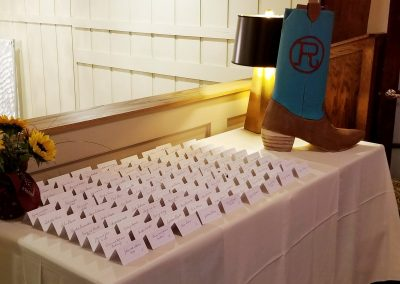 seating card table