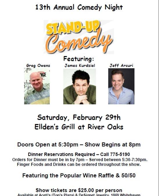 Comedy Night – Feb. 29th